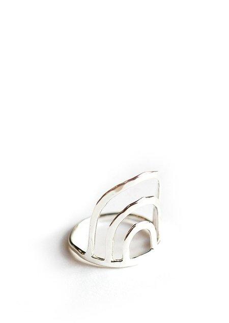 Tiro Tiro Porta Ring - Sterling Silver
