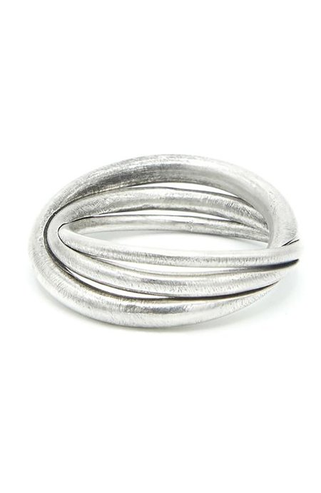 M. COHEN Small Game Ring - Sterling Silver