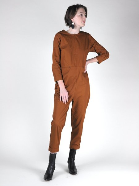 IGWT Emery Jumpsuit - Chestnut
