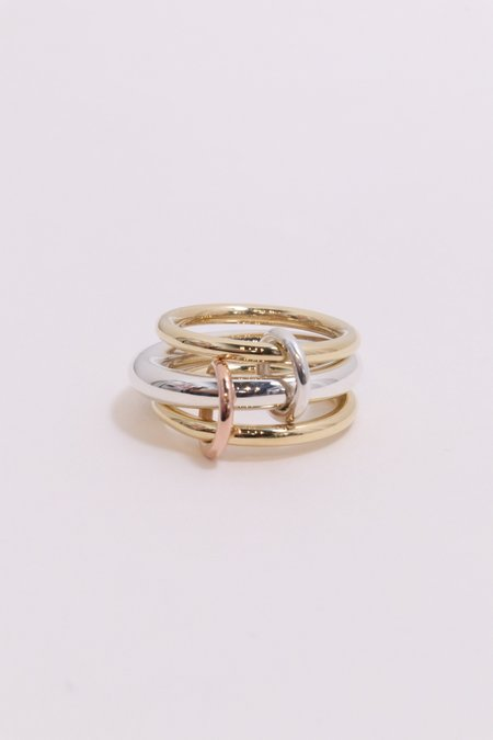 Spinelli Kilcollin Leda Ring - Silver/Gold
