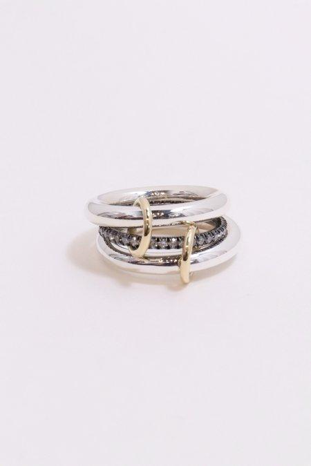 Spinelli Kilcollin Libra Noir Ring - Silver