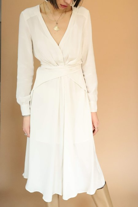 ASTR The Label Perspective Dress - Ivory