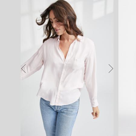 Frank & Eileen Eileen Italian Modal Shirt - Blush