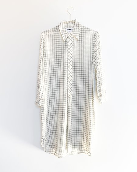Hope Icon Shirt - Off White Check