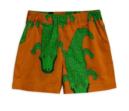 Kids Mini Rodini Crocco Woven Shorts