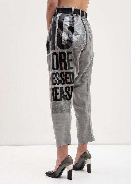 Doublet 2D Packaged 3D Cutting Trousers - GREY