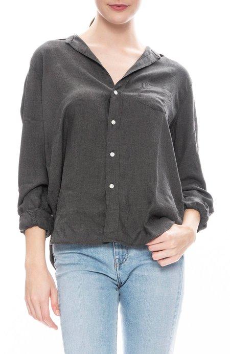 Frank & Eileen Eileen Solid Modal Shirt - Solid Grey