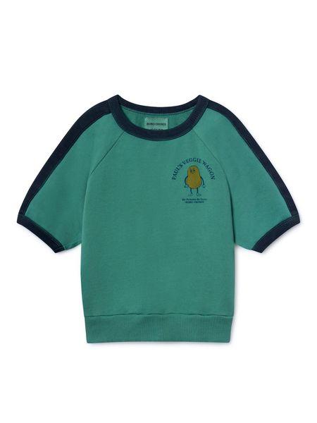 Kids Bobo Choses de Terre 3/4 Sleeve Sweats - Pomme