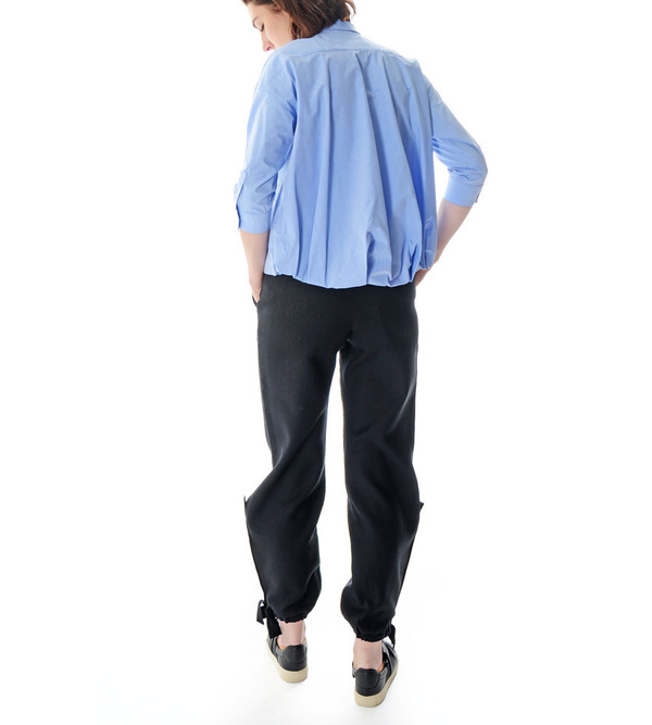 08sircus Blue Button-Up Blouse