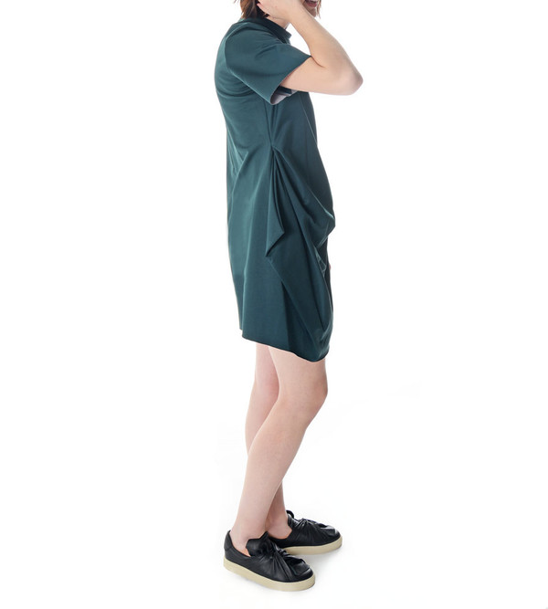 08sircus Short Sleeve Green Dress