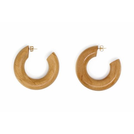 Sophie Monet Small Pine Hoops