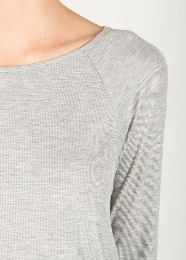 Dolan Hi-Low Raglan Long Sleeve Top