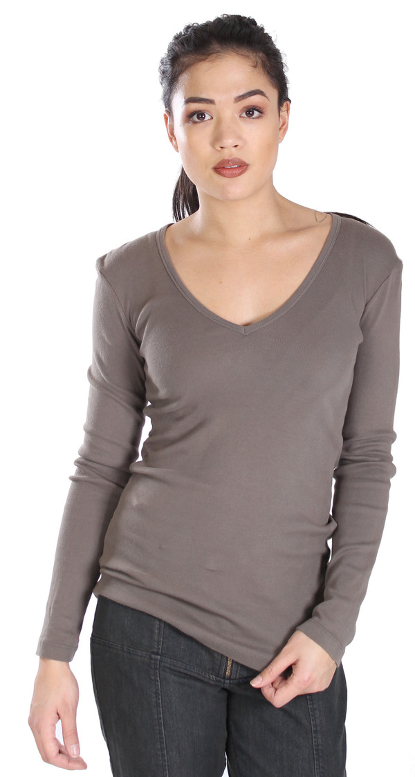 Prairie Underground Soft V Neck in Olive