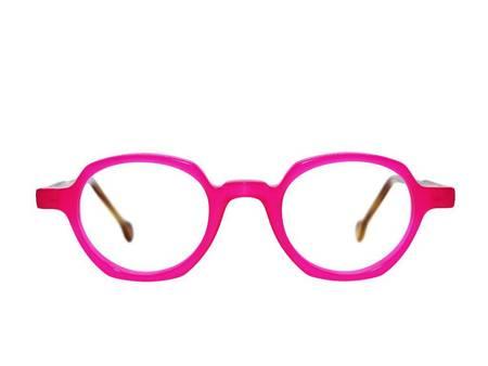 Frame Holland 780 Glasses - PINK/BROWN