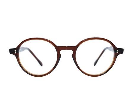 Frame Holland 753 Glasses - BROWN