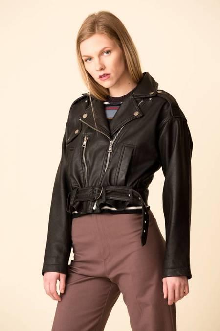 f97ca0db4692 ... Marissa Webb Corrigan Leather Jacket - Black