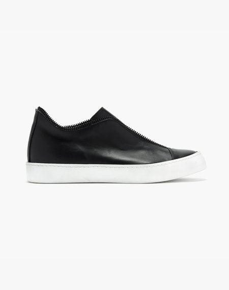 Unisex South Lane Stockholm Avant Raw Low Top Sneaker - Black/White