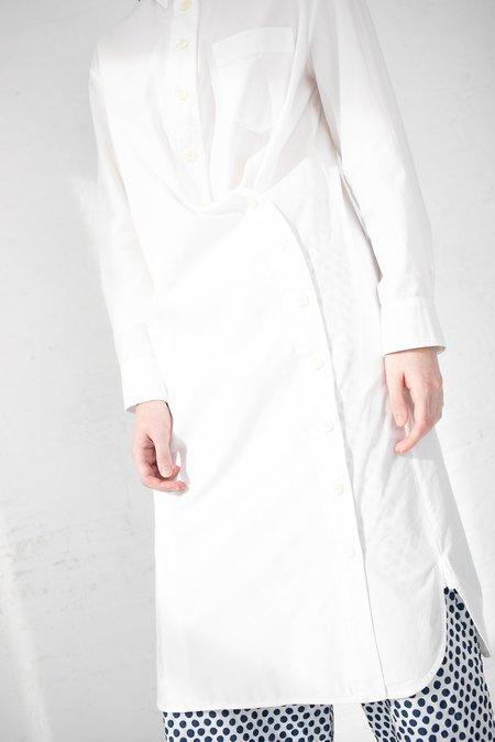 AVN 01 Long Shirt - White