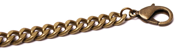 Grayling Raptor Bracelet in Antique Brass