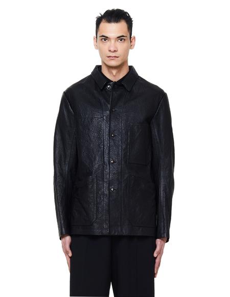 Isaac Sellam Optimiste Leather Jacket - Black