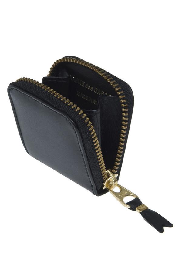 Comme des Garçons Leather Coin Purse - Black