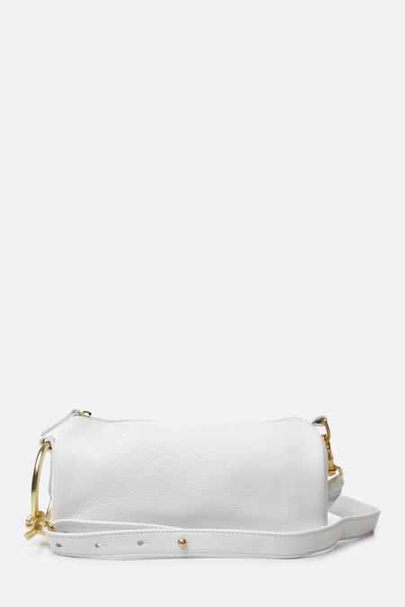 Myers Collective Ring Cylinder Pouch - White