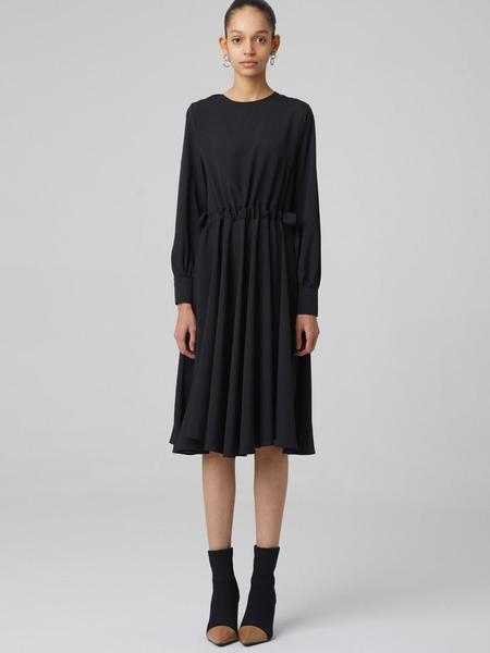 HAE BY HAEKIM Long Flare Dress - Black