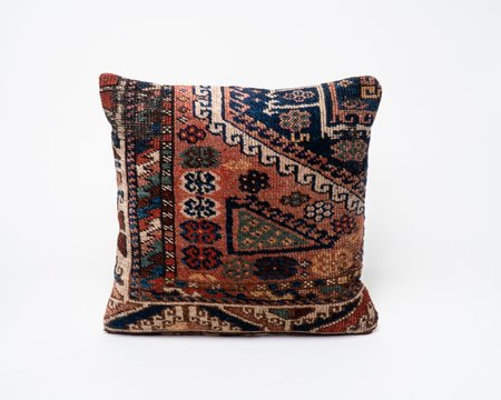 Collected by Wynne Ware Vintage Traditional Antique Turkish Kilim Pillow Cover