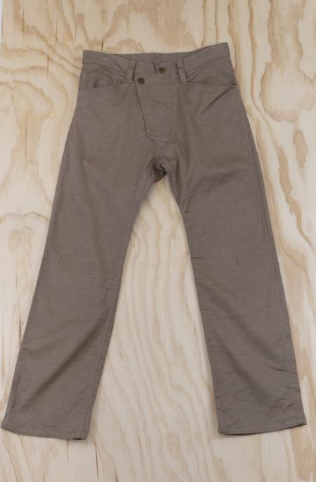 TSS Slant Fly Front Work Pants - Beige