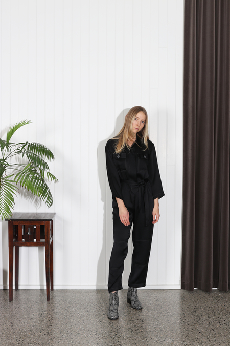No.6 Friday Coverall - Black
