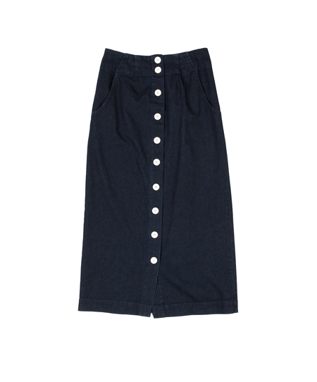 Ilana Kohn Mallin Skirt in Denim