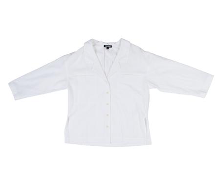 Ilana Kohn Mapes Shirt in Chalk Cotton