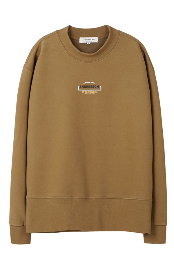 ANDERSSON BELL Unisex Time Sweatshirt- Camel