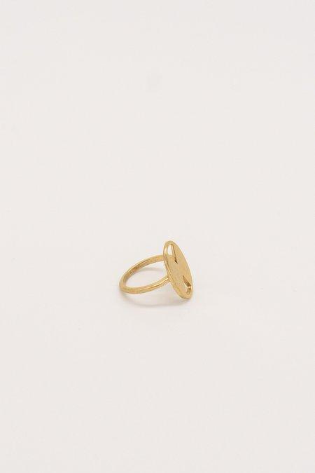 IL Design Gold Double Bali Ring