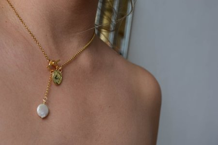 Swim To The Moon The Talia Necklace - Gold