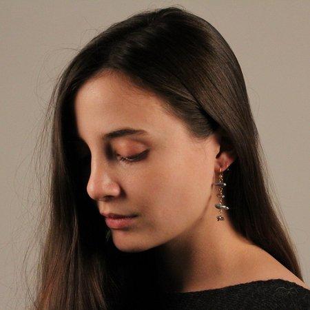 Robindira Unsworth 4-Tier Drop Earring