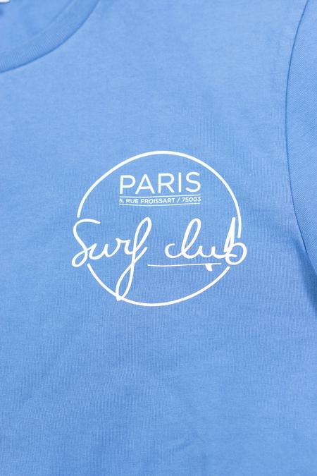 Cuisse de Grenouille Bright Blue SURF IN PARIS T-Shirt