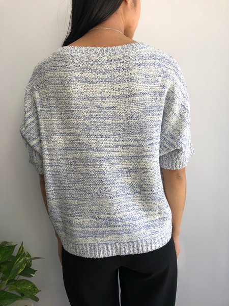 PEPALOVES JILL SWEATER - BLUE