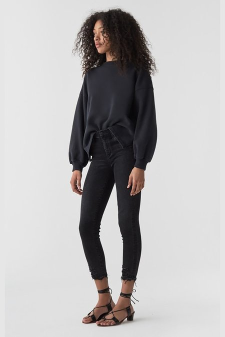 AGOLDE Sophie Hi Rise Skinny Crop Jeans - Temple