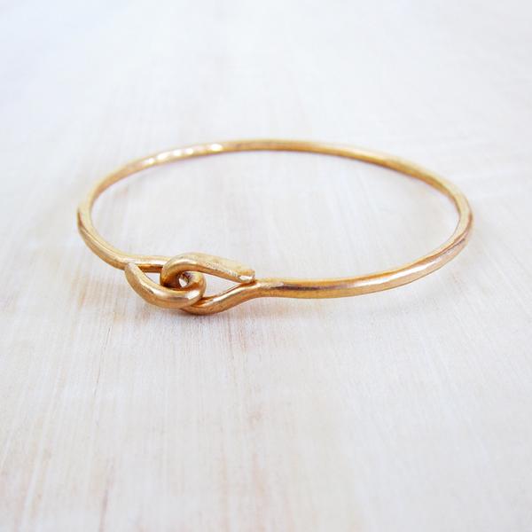 Christine Fail utilitarian knot bangle