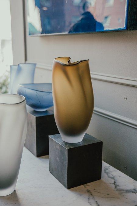 Jeff Goodman Studio Glass Vessel - Sargasso