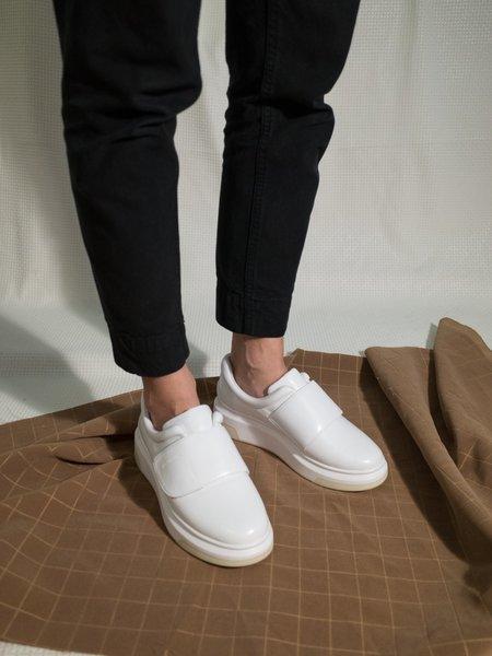 Suzanne Rae Velcro Sneaker - White
