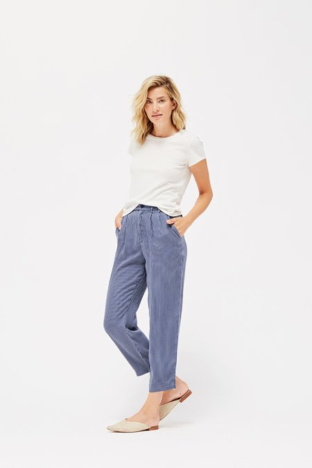 Lacausa Cole Trousers - Pinstripe