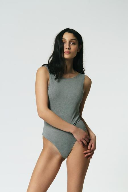 Mary Young Backless Bodysuit