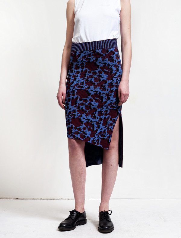 Acne Studios Jami Flower Bordeaux