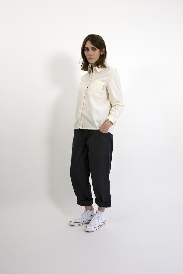 Feldt - Brushed Cream Shirt