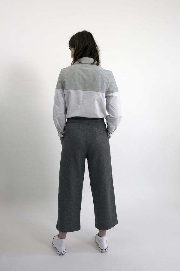 Feldt - Block Oxford Long Sleeve Shirt