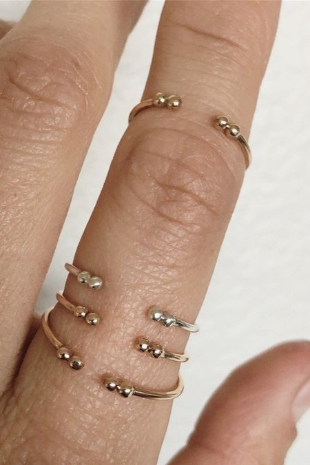 Brooke HIll Double Cuff Ring - Gold
