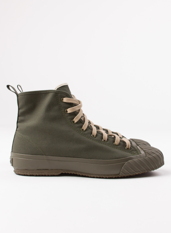 Men's The Hill-Side All-Weather High Top Sneakers Olive Drab