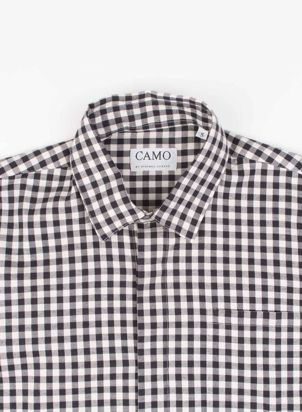 Men's Camo Fondo Classic Shirt Black/White